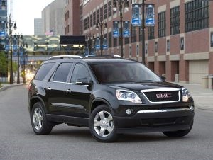 2008 gmc acadia power steering pump recall