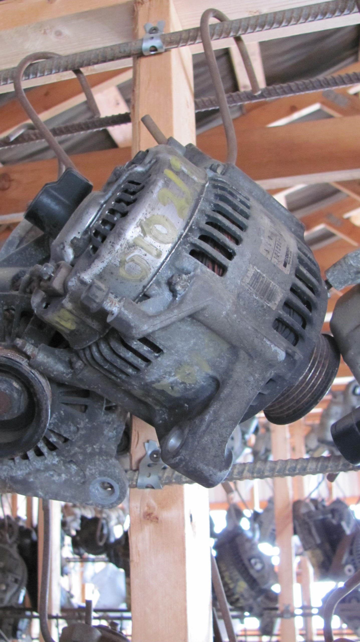 Alternator 1995 Jeep YJ 2.5