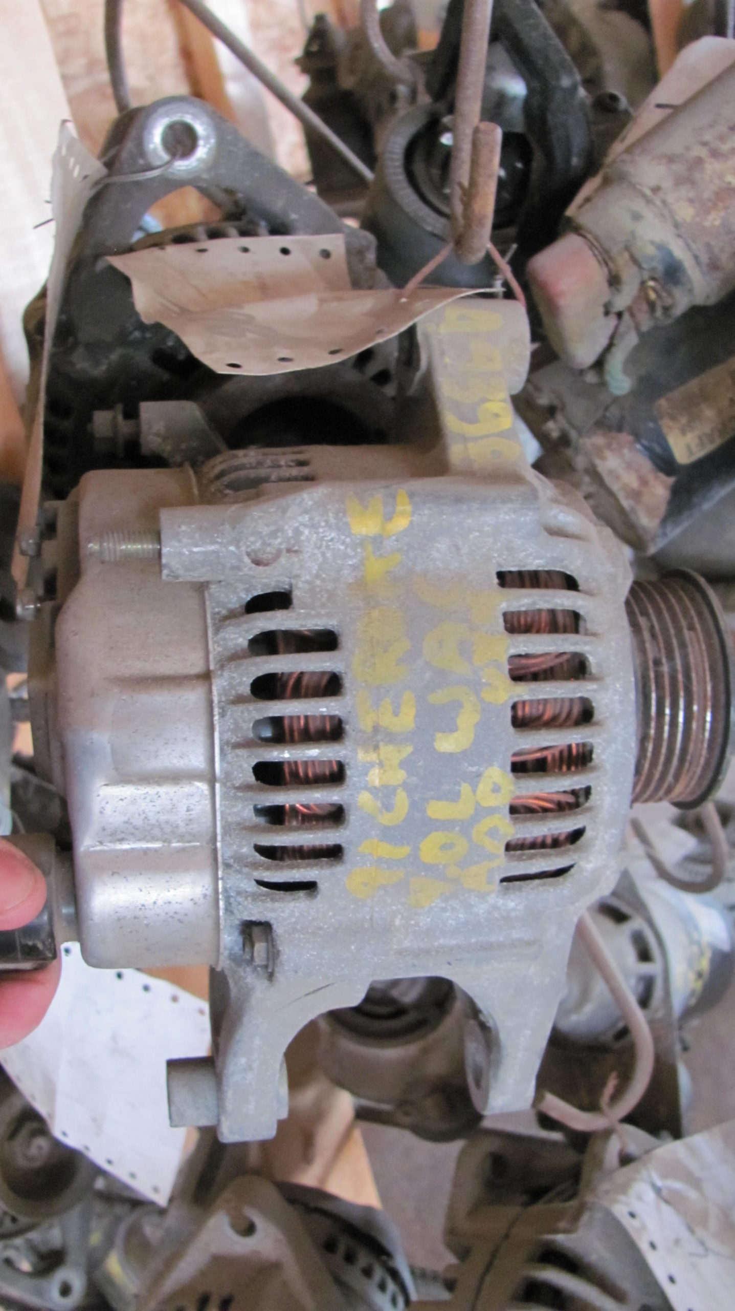 Alternator 1991 Jeep Cherokee 4l