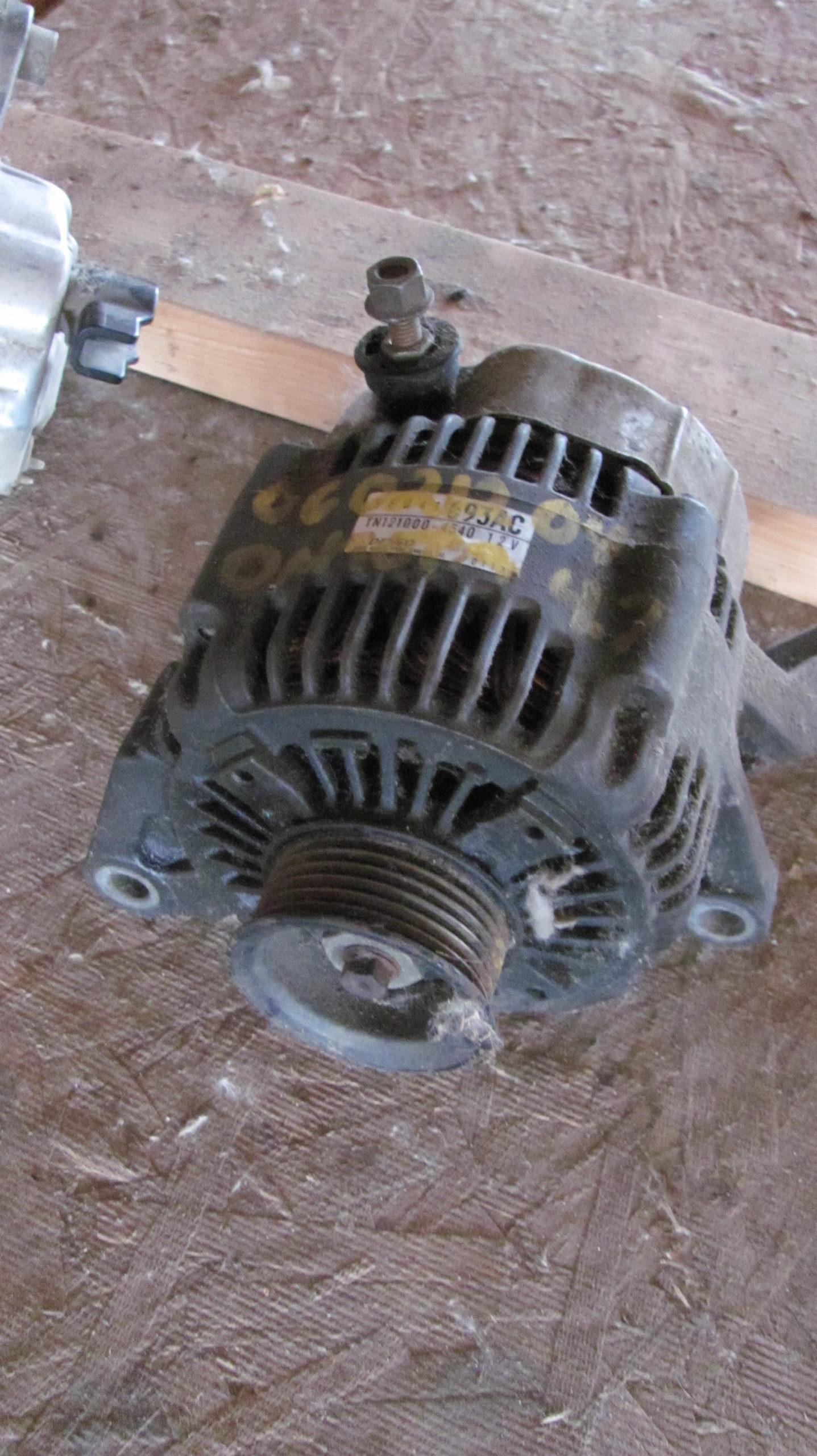 Used alternator 4.7 dodge